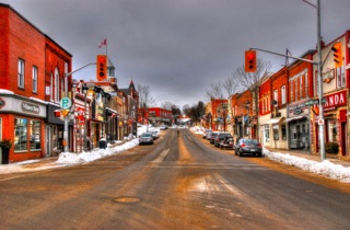 Thriving High Street in Canada